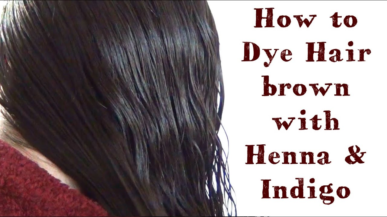 How To Dye Hair With Henna And Indigo My Henna Hair Youtube