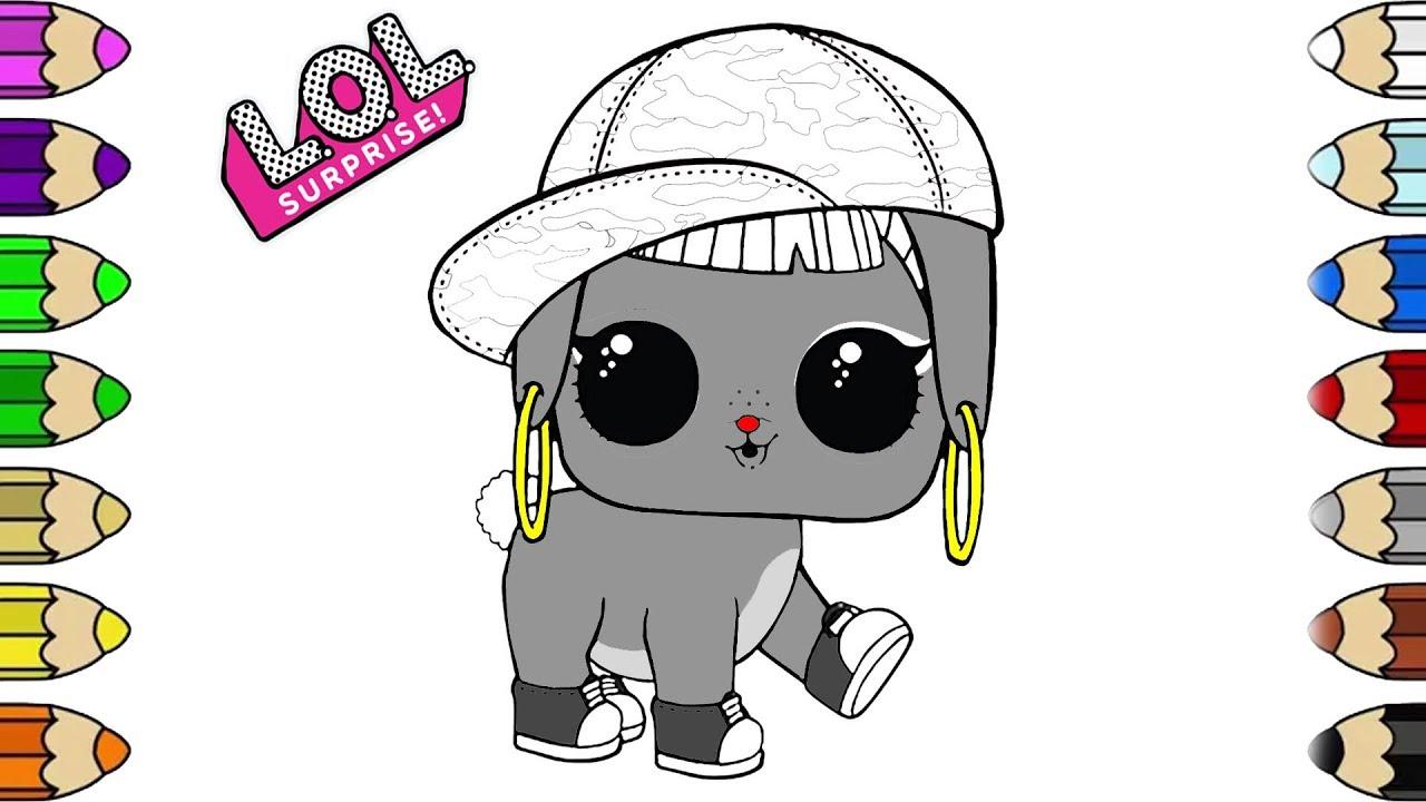 Bunny Hun LOL Surprise Doll Coloring