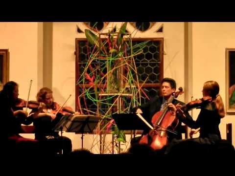Fred Lerdahl: Quartet no. 3, performed by the Daedalus Quartet