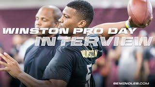 Jameis Winston Interview: Pro Day