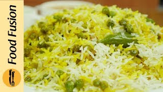 Matar Chawal Recipe By Food Fusion