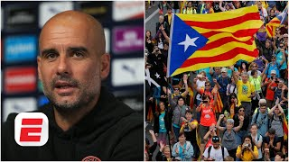 Pep Guardiola calls for international help amid Catalonia crisis | Premier League