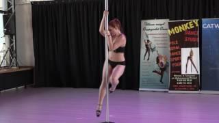 Жерносек Людмила Catwalk Dance Fest VIIl [pole dance, aerial] 30.04.17.