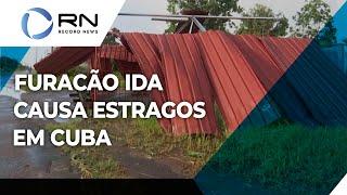 Passagem de furacão causa estragos em Cuba