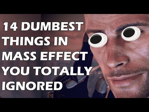 14 Dumbest Things In The Mass Effect Series That Everyone Ignored