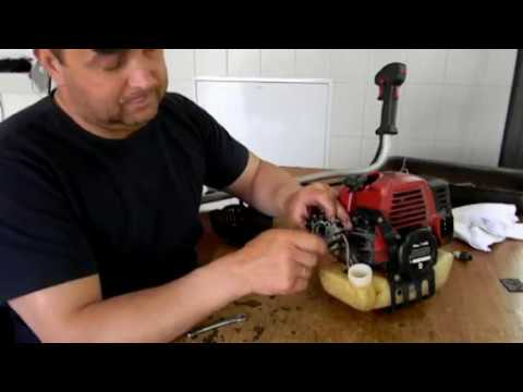 Бензотример (мото косилка) ремонт карбюратора не работает не развивает обороты, потеря мощности