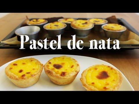 Pastel de Nata recipe | Portuguese Egg Tart