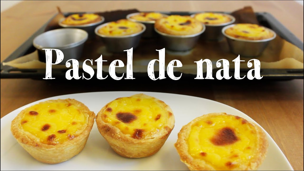 Pastel De Nata Recipe Portuguese Egg Tart Youtube