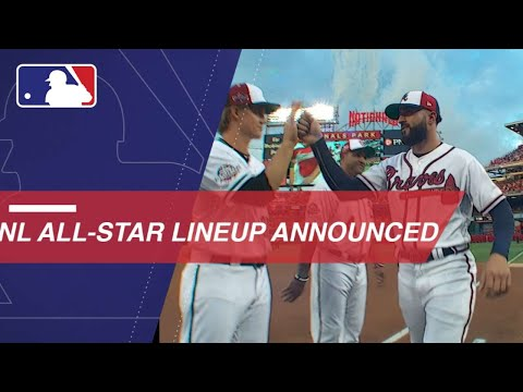 National League lineups announced in DC