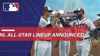 National League lineups announced in D.C.