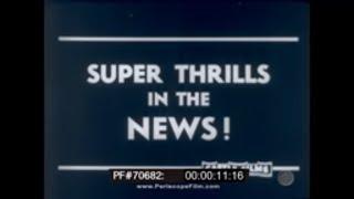 1940s Newsreel Tacoma Bridge Collapse French Fleet Sunk At Oran 70682