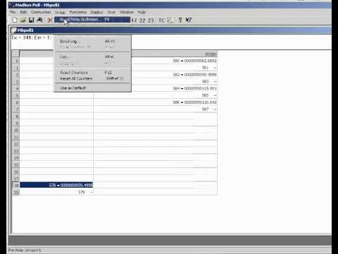 How to use Modbus Poll with a Sage Thermal Mass Flow Meter