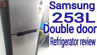 samsung 253 l frost free double door refrigerator Revier In Hindi
