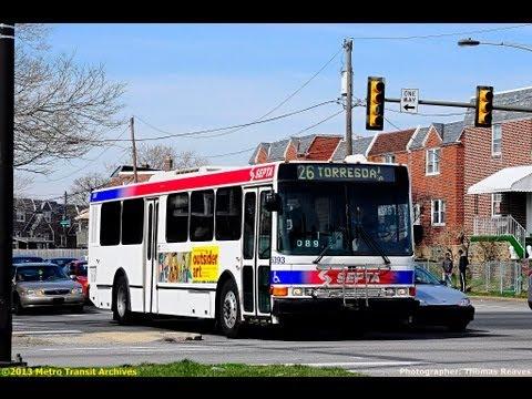 Southeastern Pennsylvania Transportation Authority Bus System (Winter & Spring 2013)
