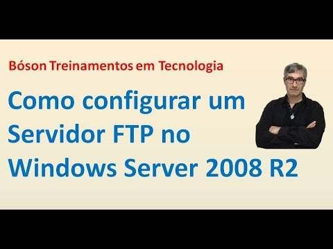33 - Servidor FTP - Windows Server 2008 R2
