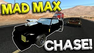 MAD MAX POLICE CHASE & CRASHES! - BeamNG Gameplay & Crashes - Cop Escape