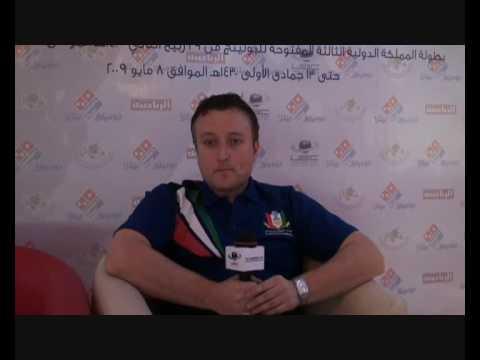 3rd Kingdom Saudi Open - Paul Delaney