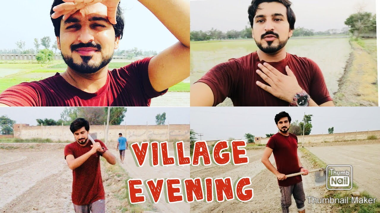 Pakistani Village Evening Routine | Evening Beauty of Village Life | How to Prepare Land 4 Rice Crop