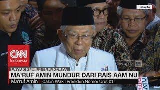 Maruf Amin Mundur Dari Rais Aam Nu Namun Tetap Menjabat Ketua MUI