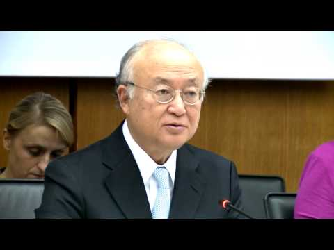 IAEA Director General Yukiya Amano on Fukushima Report