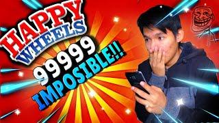 NIVEL 99999 IMPOSIBLE !!!  - Happy Wheels: Episodio 1 | Fakey kats