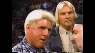 barry windham attack four horseman and ric flair 23 11 1998 wcw