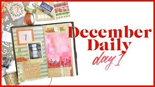 December Daily Day 1 | Journal with Me