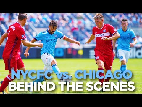 BEHIND THE SCENES | NYCFC vs. Chicago | 07.22.17