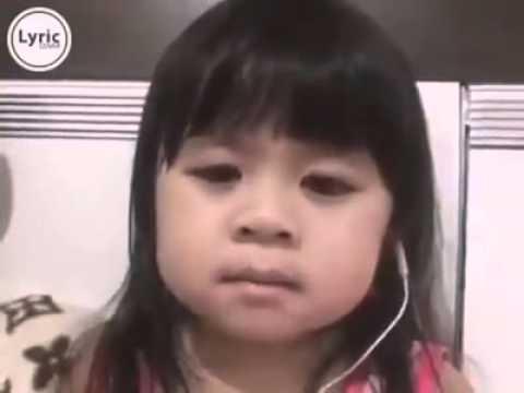 Anak kecil nyanyiin lagu nya CASSANDRA  CINTA TERBAIK