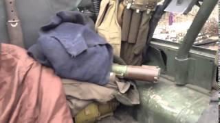Война видео Украина  УАЗ после боя War in Ukraine   Shot machine Battalion Donbass    YouTube