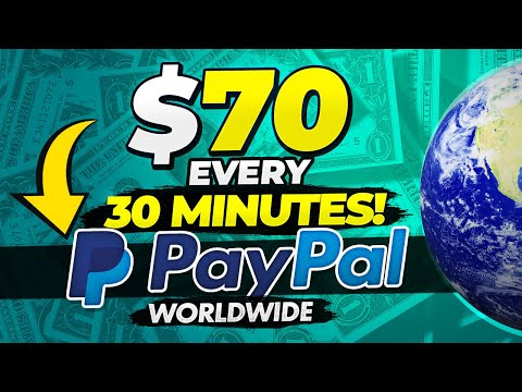 🔥 Free PayPal Money FAST And EASY (WorldWide) - $70 Every 30 Minutes! (Make Money Online)