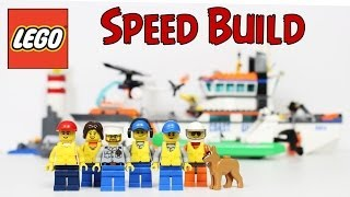 Lego Coast Guard Patrol Speed Build City 60014