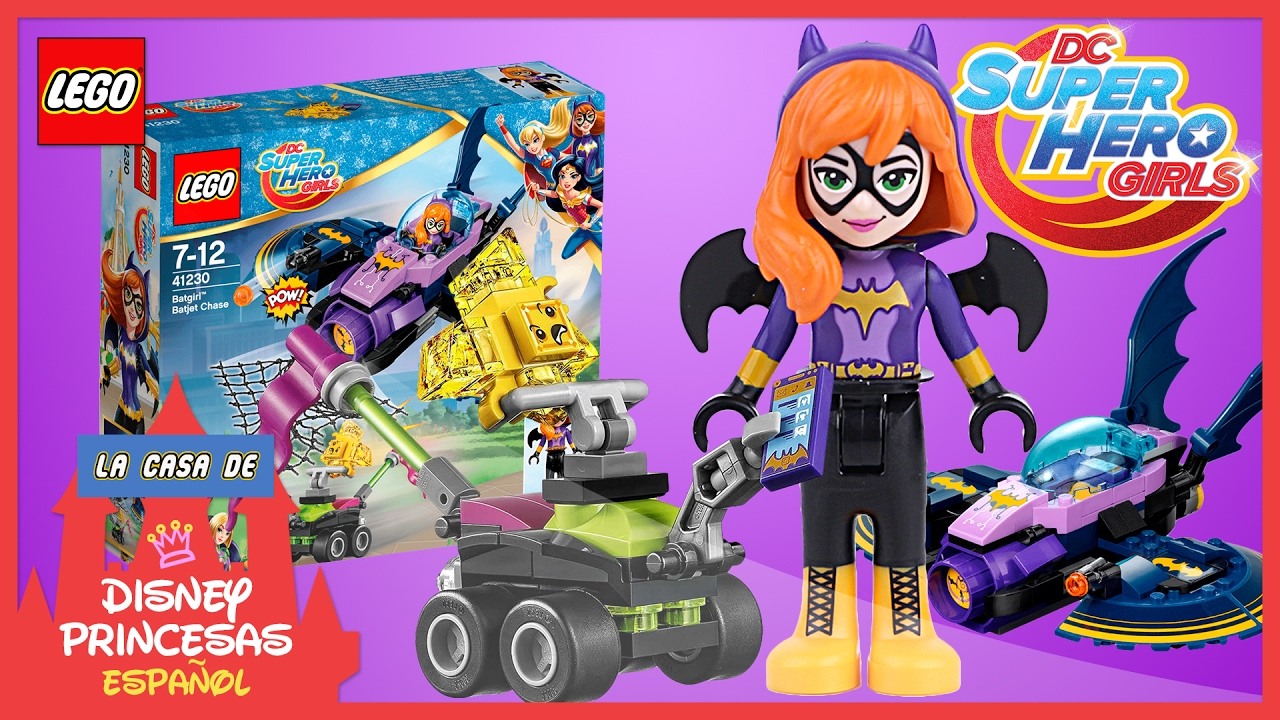 ♥ LEGO DC Super Hero Girls BATGIRL BATJET CHASE | Unboxing ...