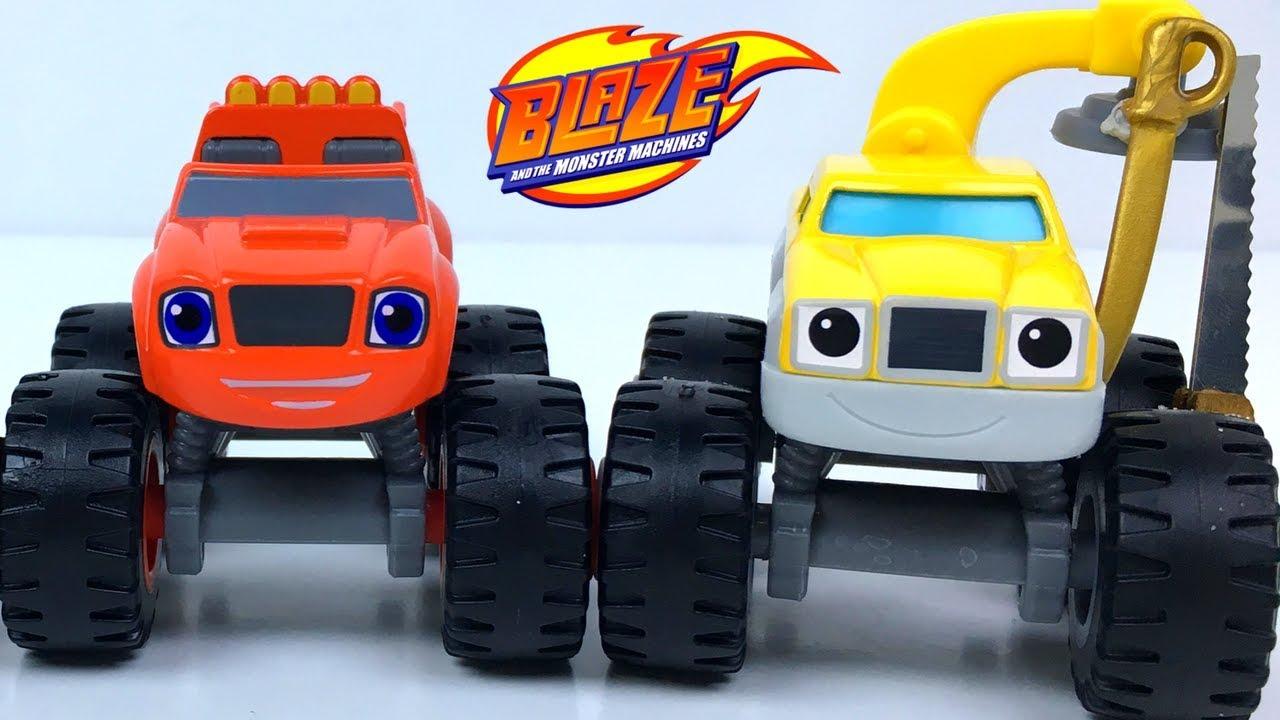 De Blaze Al Juguetes Nickelodeon The Buscando Zeg Crusher Monster And Machines Ladron nvmN80w