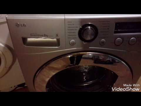 Стиральная машина LG не нагревает воду