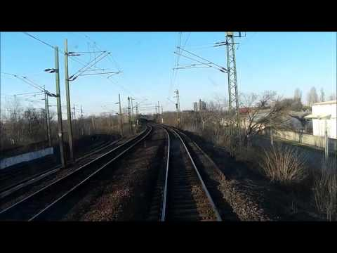 80a vasútvonal Ferencváros - Hatvan vezetőállásból