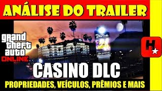 Análise do trailer The Diamond Casino Resort (GTA Online) New DLC Update