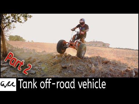 Making a track drive trike #2