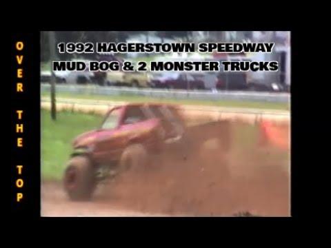 1992 HAGERSTOWN SPEEDWAY   MONSTER SHOW & MUD BOG