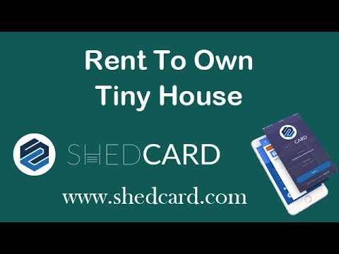 Rent To Own Tiny House