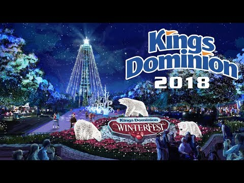 WinterFest - Coming to Kings Dominion in 2018