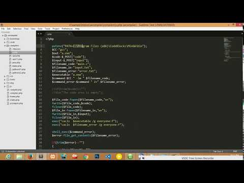 How To Make An Online Compiler (Both Linux And Windows Server)