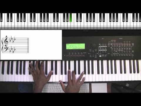 Grateful - Hezekiah Walker (Piano Chords)