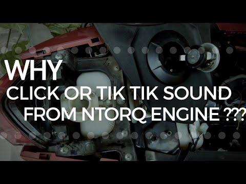Why Tik-Tik Sound from NTORQ Engine🤔?