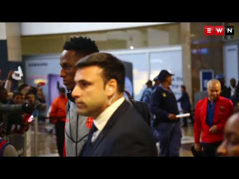 Barcelona Football Club touch down in Johannesburg