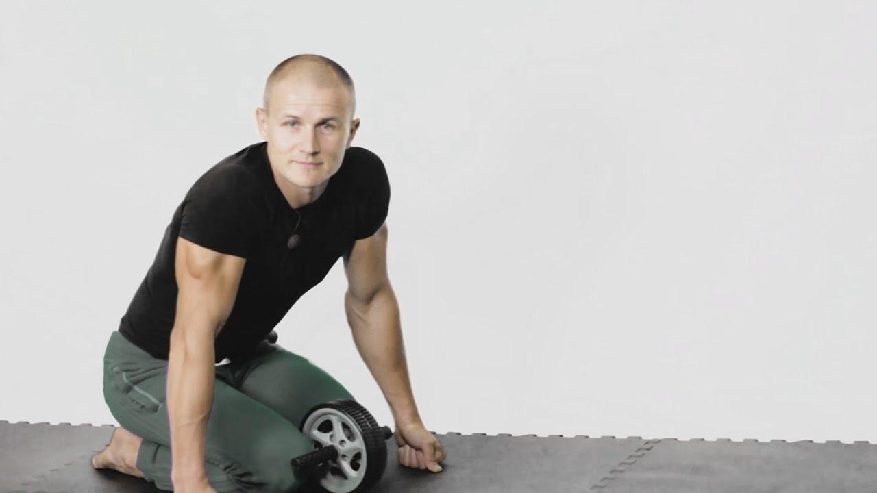 Как сделать гимнастическое колесо- ролик - YouTube