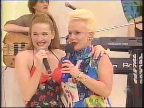 Gina G @ Ana Maria Braga (Live in Brazil 1997) Ti Amo, Interview & Ooh Aah Just A Little Bit