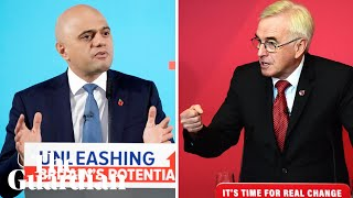 Javid v McDonnell: Tory and Labour parties reveal economic plans
