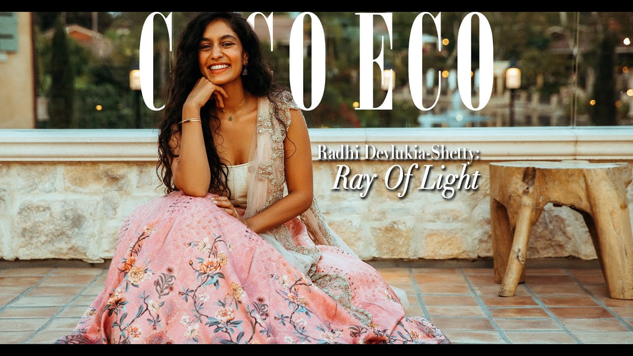 Coco Eco's September Cover Story . . . An Interview With Radhi Devlukia-Shetty.