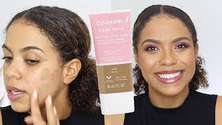 Covergirl Skin Milk Foundation Review + Wear Test!